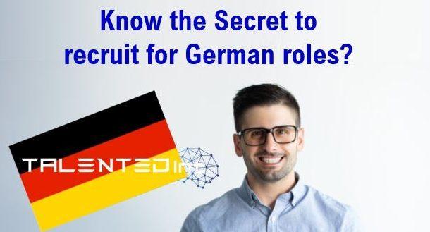 Recruiting Germans